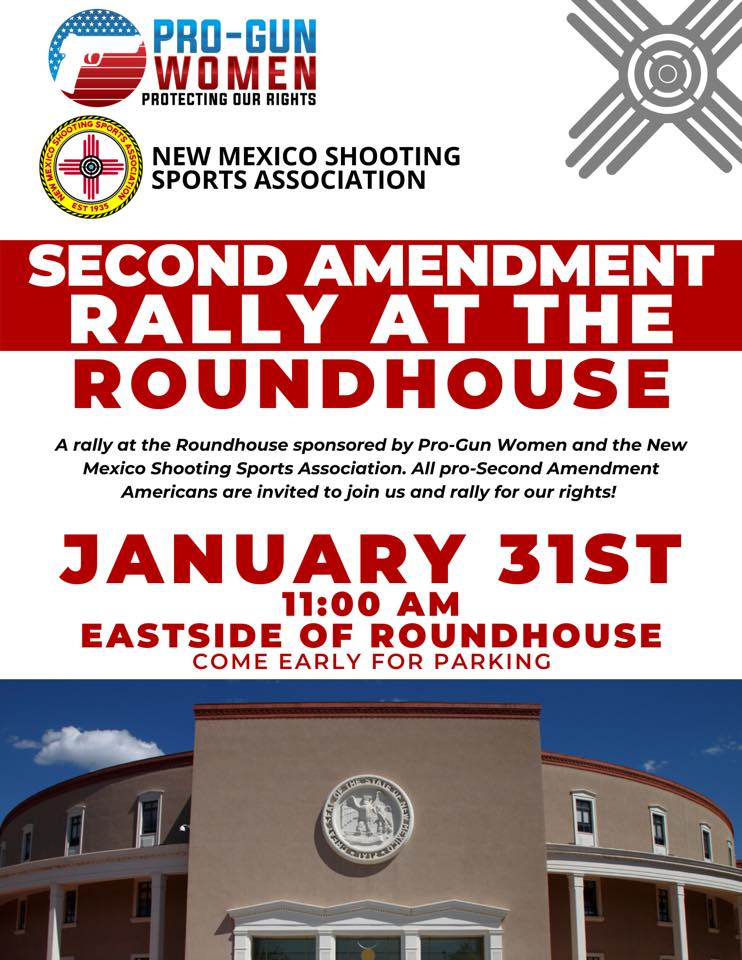 Letter of Instruction for Second Amendment Rally NM